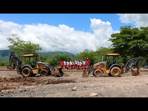 Construction of Raptor Mining's Mercury Recovery Plant in Honduras