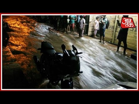 Mumbai: Major Water Pipeline Bursts In Ghatkopar