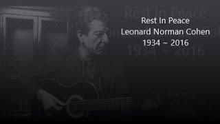 Leonard Cohen ~ Everybody Knows (Lyrics)