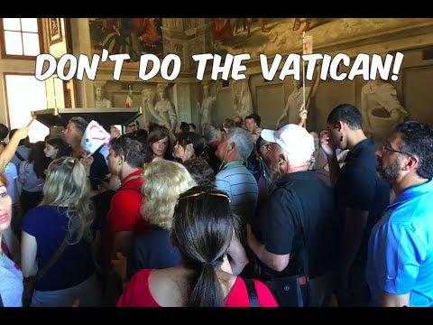 Vatican City Vlog- never again!