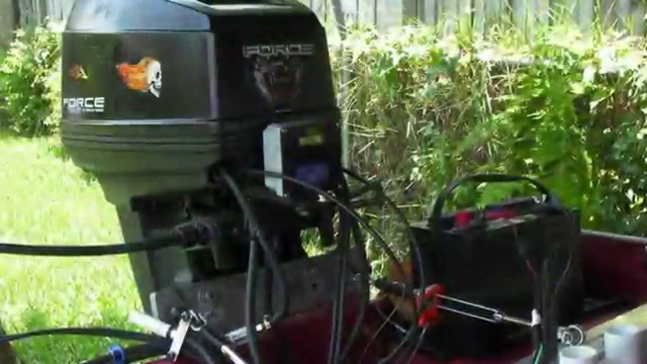 Wiring An Outboard Motor Tach And Voltmeter Youtube Bayliner Tachometer