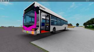 Autobús NSW TrainLink que sale en Lawson (Roblox)