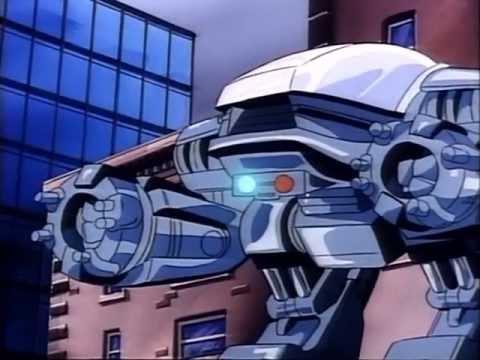 Робокоп мультфильм 1988