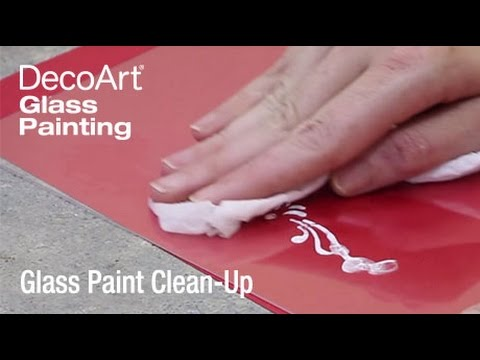 Tips for Fixing Glass Painting Mistakes