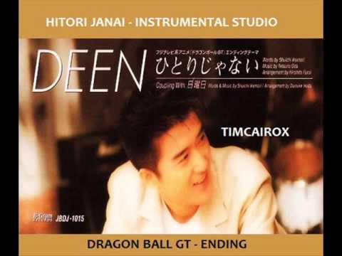 DRAGONBALL GT   ENDING INSTRUMENTAL STUDIO DEEN HITORI JANAI