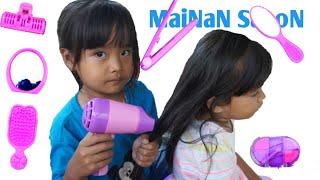 FIONA JADI PENGUSAHA SALON | Mainan Anak Perempuan