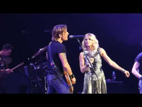 Keith Urban-Carrie Underwood*The Fighter*Sydney Olympic Park 12/12/16