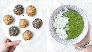 5 Easy Healthy Snack Ideas! Quick Healthy Recipes You Need To try!