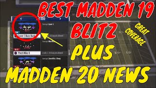 BEST BLITZ ALL YEAR IN MADDEN 19.🔥 GREAT COVERAGE BEHIND THIS BLITZ. PLUS HUGE NEWS FOR MADDEN 20