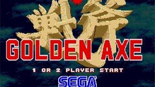 Golden Axe (Sega Genesis MegaDrive)