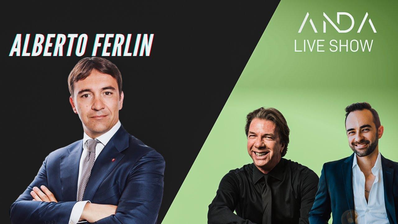 ANDA Live Show con Ospite Alberto Ferlin