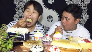 CAKE LOVERS SPECIAL MUKBANG | Chicken Quiche & Cupcakes | Andrea's Bakelove | Meitei Mukbang