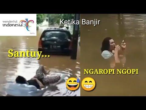 parodi pesona Indonesia banjir part1 | MEME PESONA INDONESIA