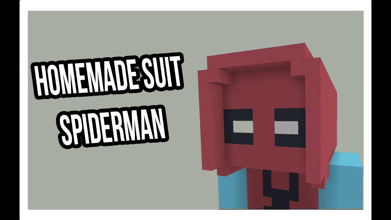 Minecraft | How to Build Homemade Suit Spider-Man & Minecraft | How to Build Homemade Suit Spider-Man - YouTube