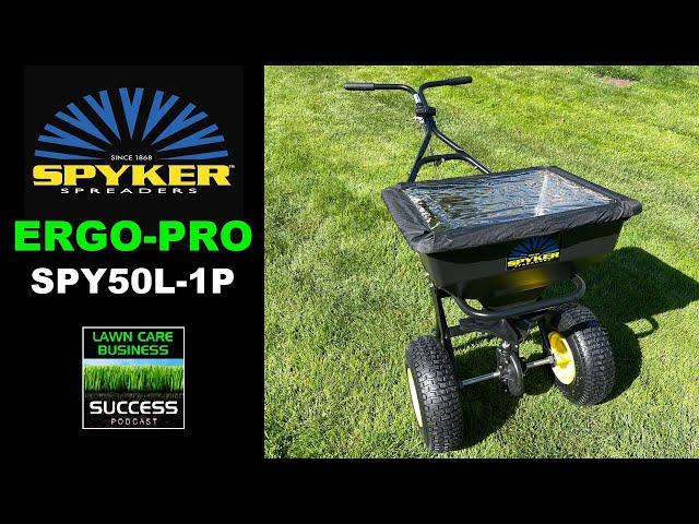 Spyker Spreaders ERGO-PRO SPY50L-1P 50lb Broadcast Spreader