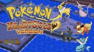 Comienza el viaje a Kanto con los Eevees/Pokemon Heart Gold #43 Eeveeventuras #1