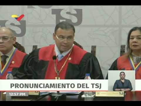 TSJ anula acuerdos de la Asamblea Nacional sobre OEA y Gustavo Tarre Briceño