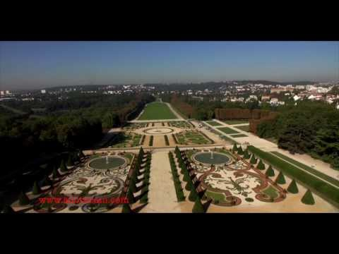 Tournage de drone à Versailles, Sceaux et Saint Germain