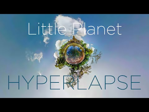Hyperlapse using Google Street View