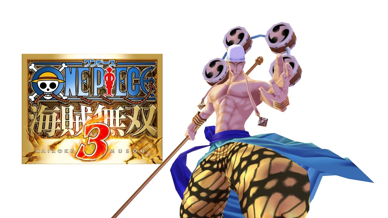 Rush), on the foxy ship stage where each fighter's wanted poster is in the back, his actually says eneru. One Piece Pirate Warriors 3 Enel Eneru Gameplay Youtube