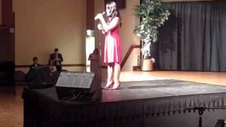 Final Mountaineer Idol 2009 performances - Nicole Mata