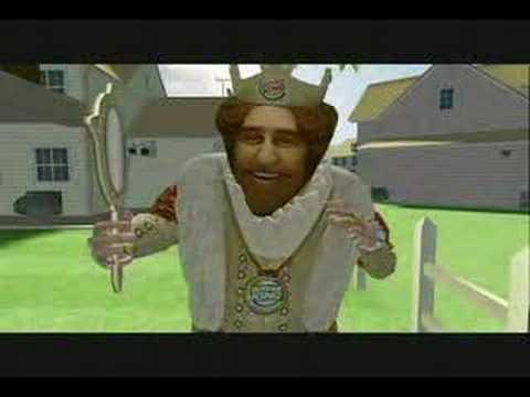 Burger Kings Sneak King Xbox 360 YouTube