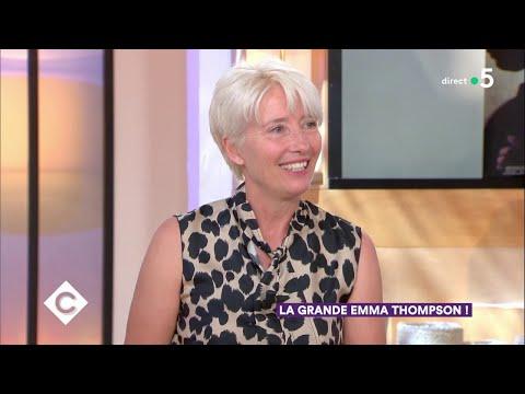 La grande Emma Thompson  C à Vous  26062018