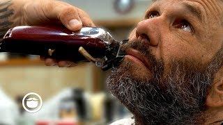 Homeless Gentleman's Amazing Barbershop Transformation (Spread the Love) | South Austin Barbershop