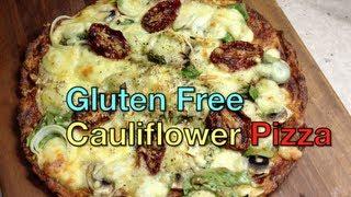 Gluten Free Pizza Cauliflower Base Thermochef Recipe Cheekyricho