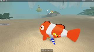 ROBLOX: Ho TURNED A FISH E ENTERED A GIANT AQUARIUM! (Simulatore acquario)