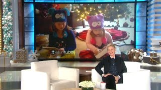 Ellen Found Some Hilarious Videos on the Web