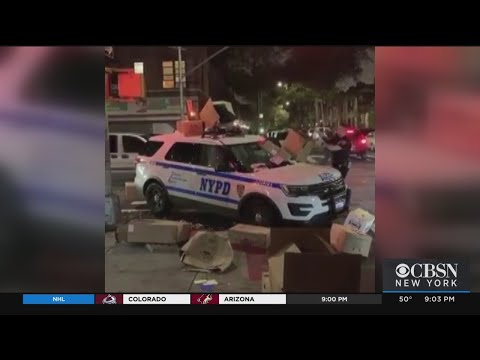 NYPD Vehicle Trashed In Latest Case Of Police Disrespect
