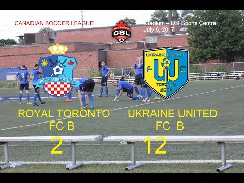 ROYAL TORONTO FC B vs  FC UKRAINE UNITED B