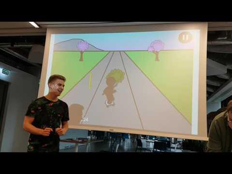 PiGames - Ninja vs Skateboard: Revenge - Gamedev.js Game Jam