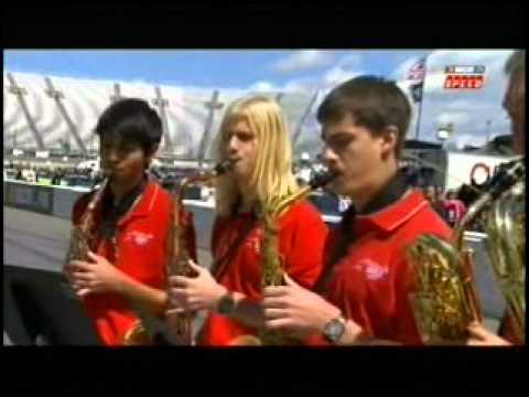 Star Spangled Banner Martinsville High School Jazz Ensemble 04-02-11