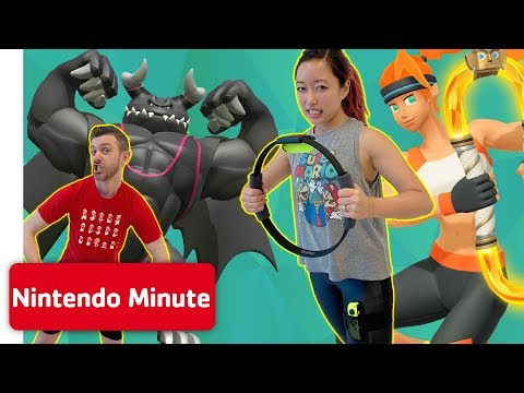 Ring Fit Adventure Workout Challenge w/ RogersBase & MissClick 💪