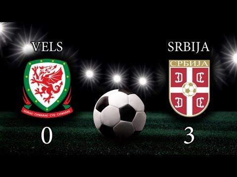 Vels - Srbija (0:3)  |  Wales - Serbia | 10.09.2013 (Cela utakmica)