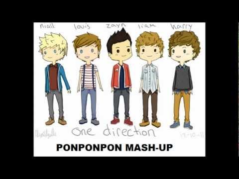 WHAT MAKES YOU BEAUTIFUL & PONPONPON MASHUP