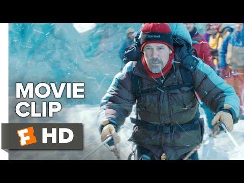 Everest Movie CLIP - Crossing the Ladders (2015) - Josh Brolin, Jason Clarke Movie HD