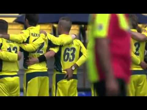 Funny cricket:Australia shameful act while national anthem being sung in world T20