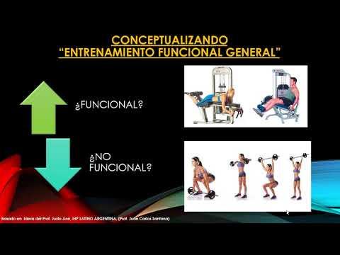 Como armar un programa de entrenamiento funcional