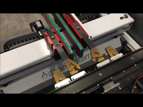 argesystems' back gauge with the automatic fingers changer.