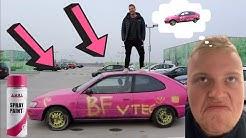 Maler Mikkels bil PINK !!!!!