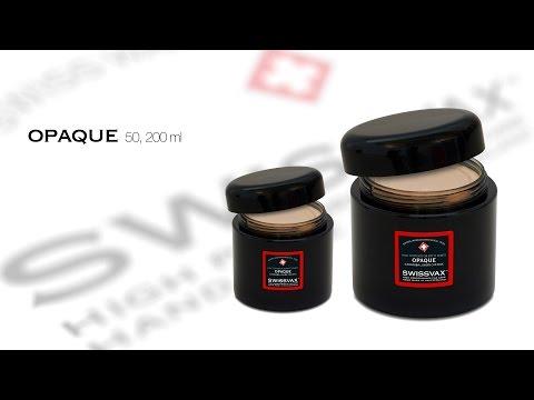 SWISSVAX OPAQUE Premium wax for satin matt paints, 50 ml, 200 ml