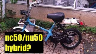 Honda Express NCU50 Overview part 1