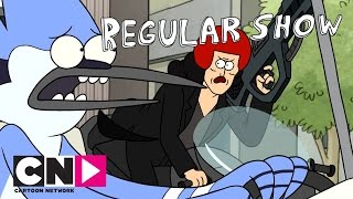 Regular Show | Bounty Hunter Chase | Cartoon Network