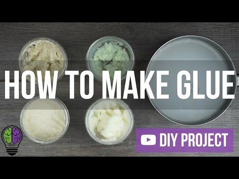How to Make Homemade Super Strong Glue? Natural Glue