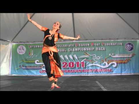 Long Beach Dragon Boat Bharatanatyam dance performance