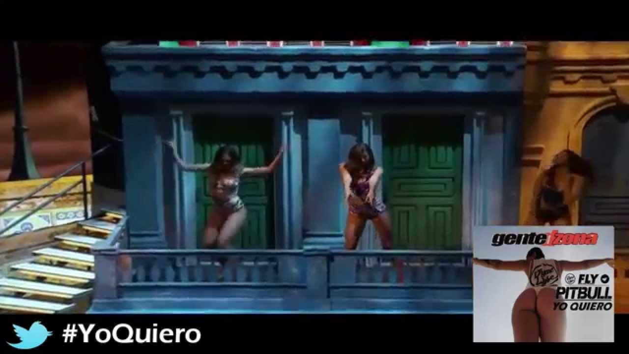 Download Pitbull ft Gente De Zona & dj Chino '' Yo Quiero ft Piensas ( Dile la verdad ) '' live HD