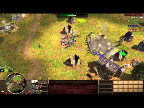 AOE3 2 games with Ports